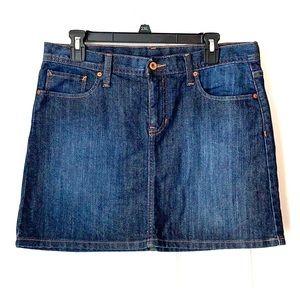 Gap Mini Jean Skirt